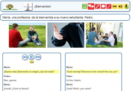 busuu.com dialogue